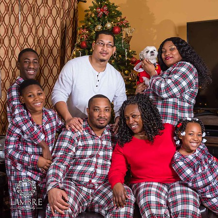 The Hugh Family Xmas photo session