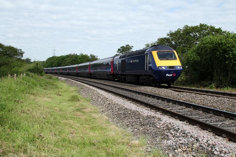43127 passes Pencoed heading for Swansea   13/06/14
