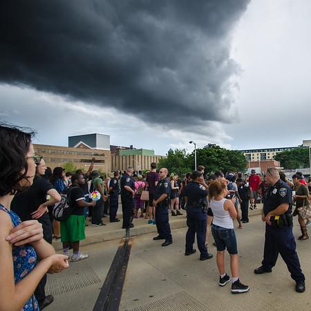 Baltimore BLM Protest  - 7-16-16