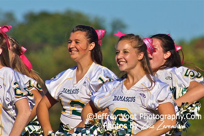 Damascus HS Poms and Cheerleading,    Photos by Jeffrey Vogt Photography with Lisa Levenbach