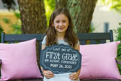 20210526 Brielle Last Day 1st Grade