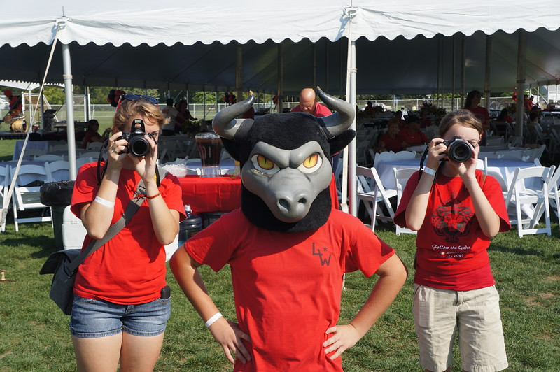 Lutheran-West-Longhorn-at-Unveiling-Bash-and-BBQ-at-Alumni-Field--2012-08-31-012.JPG