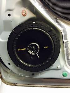 2012 Honda Civic Sedan Front Door Speaker Installation - USA