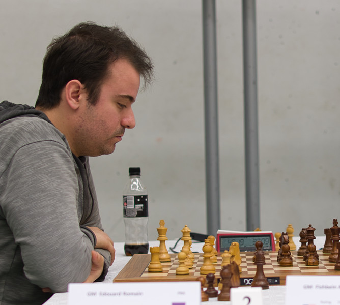 Romain Edouard GM, second seed