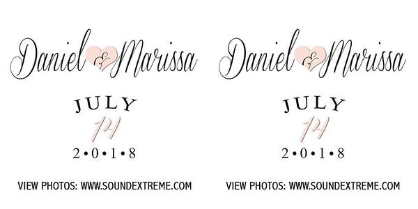 Marissa & Daniel 7/14/18