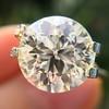 3.86ct Old European Cut Diamond GIA K VS2 46