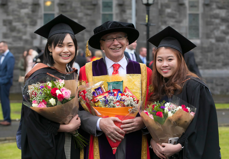 31/10/2018. Waterford Institute of Technology (WIT) Conferring Ceremonies 2018. Pictured are Janet Wong and Jessica lau. Picture: Patrick Browne