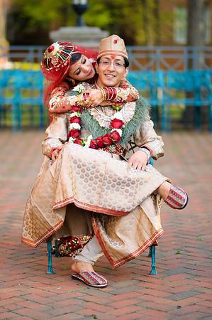 Shakti and Rakshya's Ceremony