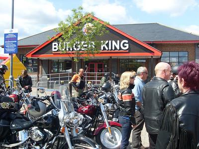 Harleys at Petworth, 15 Jun 2008