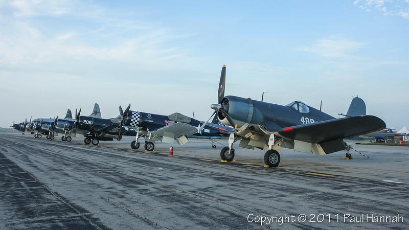 2011 Thunder Over Michigan - Sunday Statics