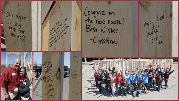 Blackhawk Church Love Madison Frame Up for Habitat