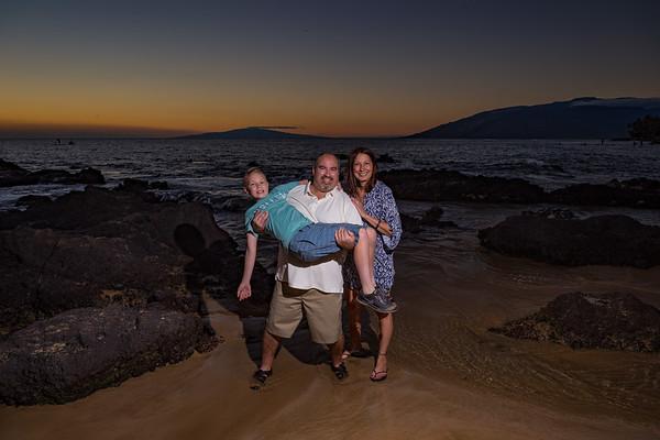 Larry, Tana and Landon