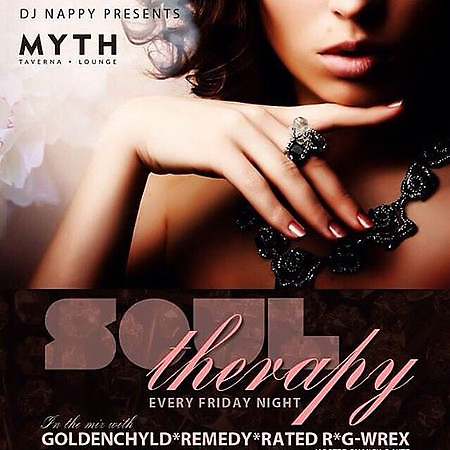 DJ Nappy Presents Soul Therapy @ Myth 12.4.15