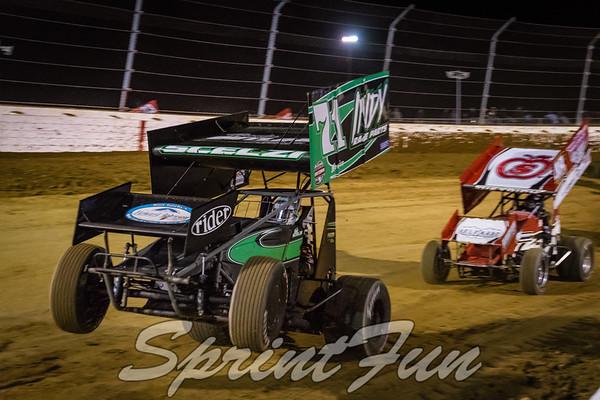 Sprint Car World Championship - Night 1 - 4-27-18
