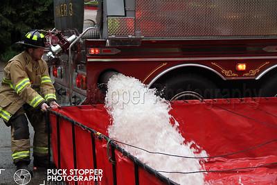 Tanker Drill - Long Ridge Rd, Stamford, CT - 5/23/17