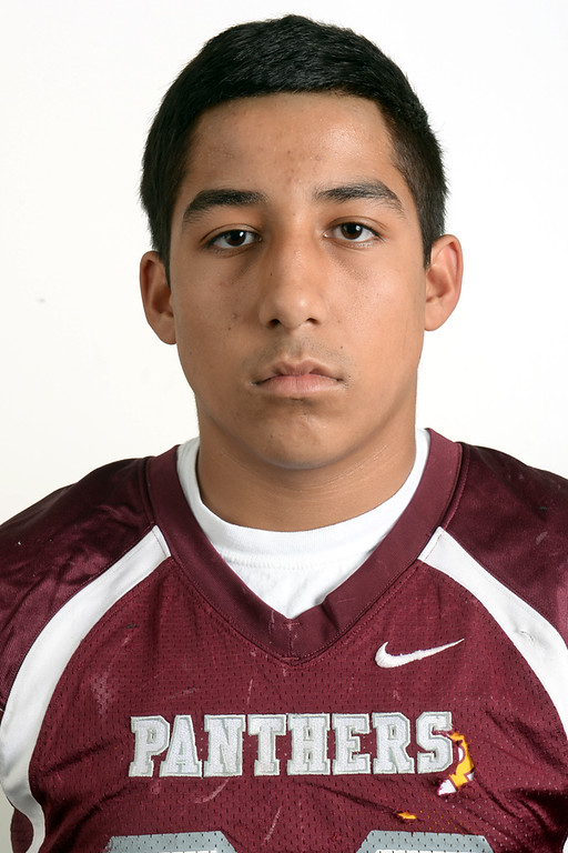 . Michael Sahagun from Rosemead High School was selected to the Pasadena Star-News All-Area football team on Monday December 16, 2013.  (Staff Photo by Keith Durflinger/Pasadena Star-News)