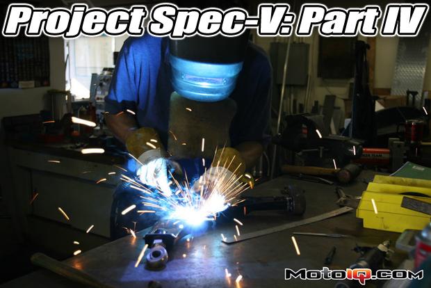 ritchy watanabe welding on motoiq's nissan sentra spec-v