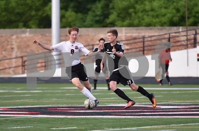 Ankeny Centennial @ Fort Dodge boys soccer 5/16/17