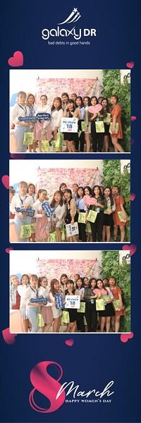 Galaxy DR | Women's Day March 8 instant print photo booth in Ho Chi Minh City | Chụp hình lấy liền Sự kiện 8 Tháng 3 | Photobooth Saigon