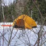 Camping d'hiver  (18 mars 2006)