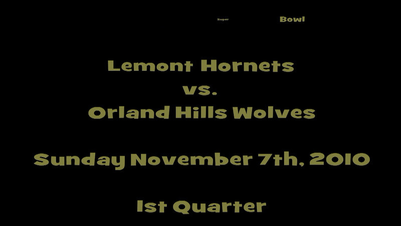 Junior Varsity - Lemont Hornets vs Orland Hills Wolves