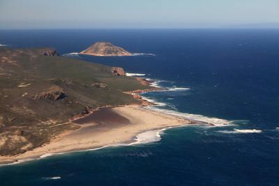 San Miguel Island aerial views
