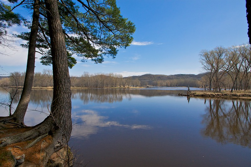 St. Criox River William O'Brien State Park MN.