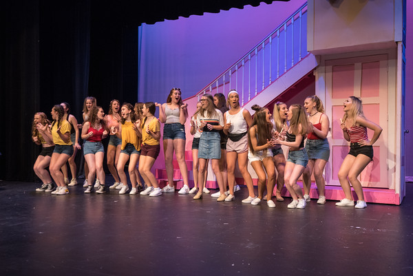 2018 Legally Blonde Act 1