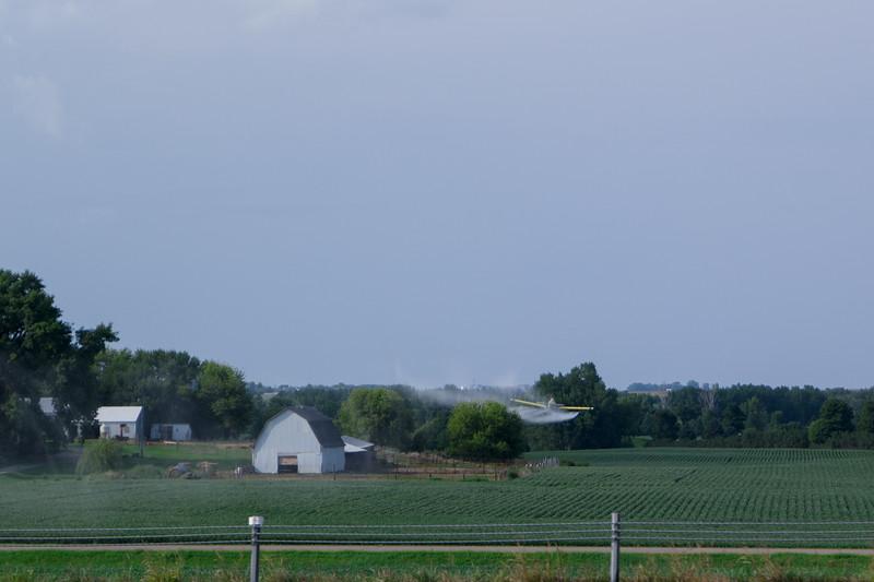 Aerial Spraying - Nebraska
