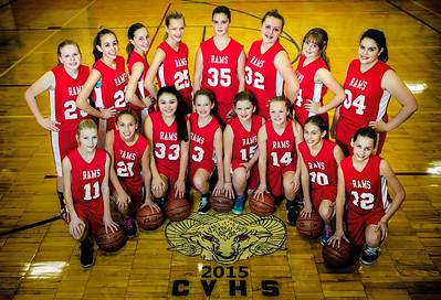 Clearwater Valley Junior High Girls 2015
