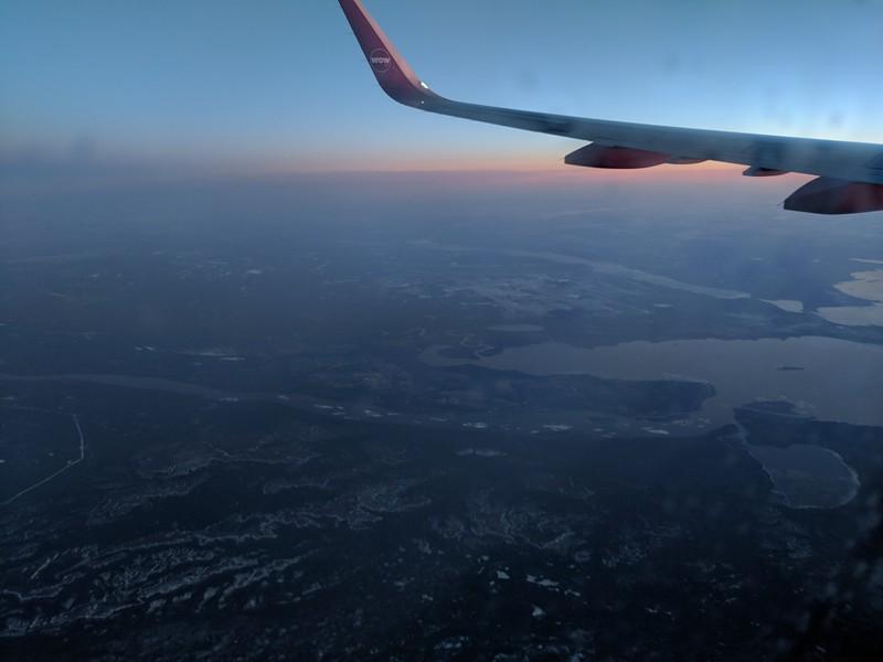 Sunrise over Newfoundland