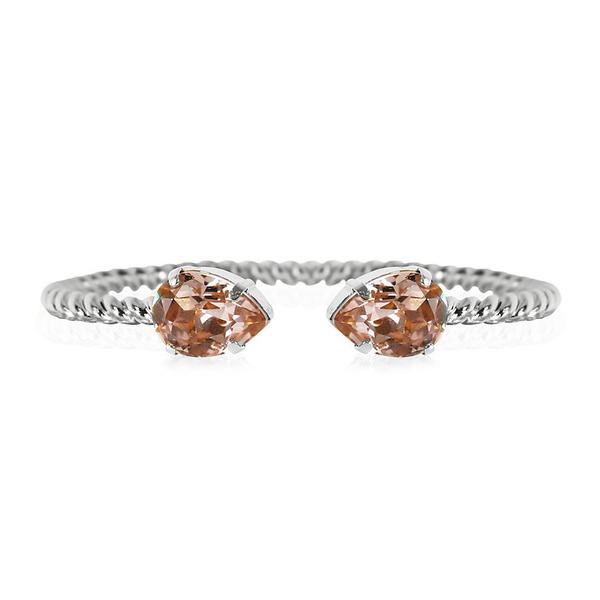 Mini Drop Bracelet / Vintage Rose Rhodium