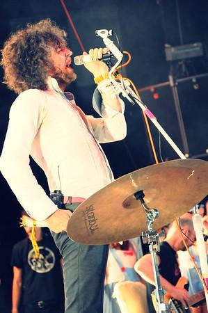 Wayne Coyne, The Flaming Lips, The Ryman Auditorium, Nashville,Tennessee,2011