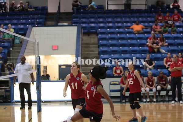 Volleyball vs Columbia Christian 10-3-2013