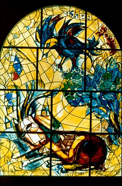 Chagall Hadassah windows