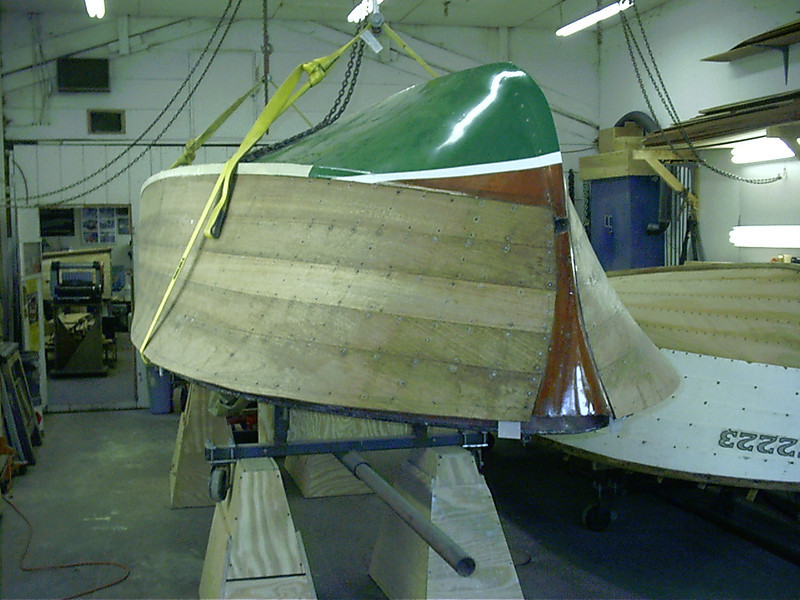 Front port view ready to sand.
