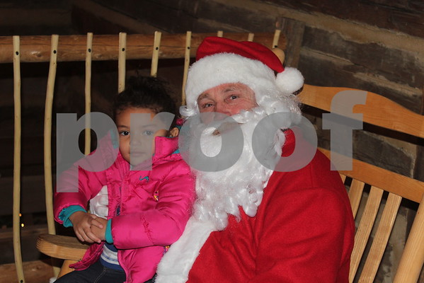 Town of Unicoi Hosts Christmas at the Cabin - December 2016