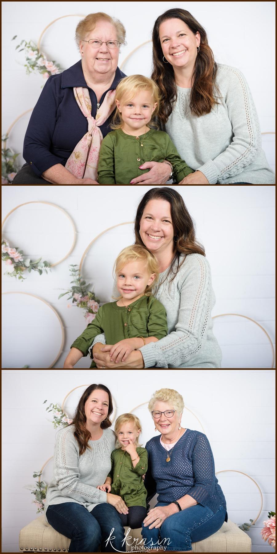 Mom and Grandmas