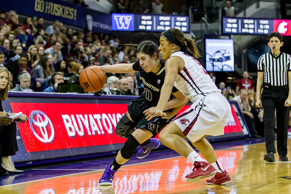 UW Huskies Women's Basketball vs WSU