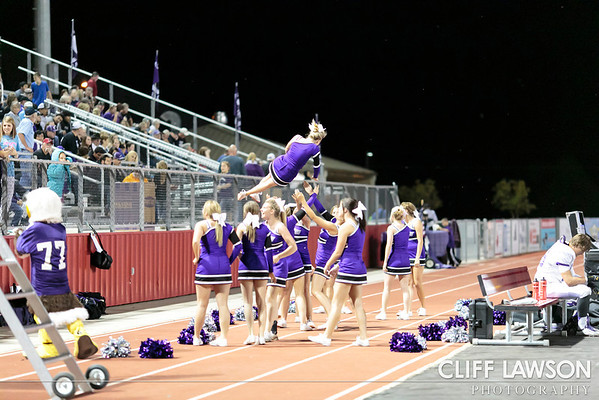 Canyon High Cheerleaders