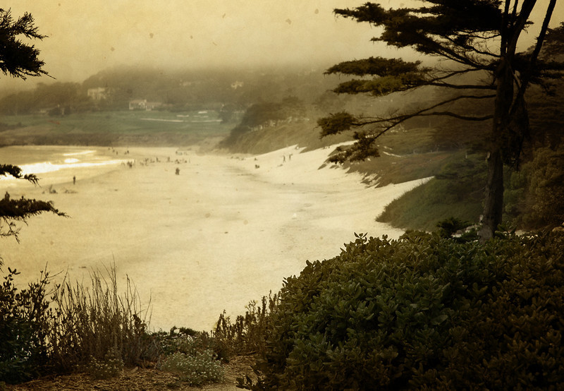 Another view of Pebble Beach In Carmel, California - you can just feel the nostalgia.