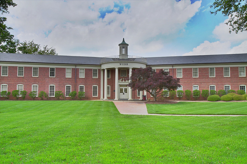 HDR images of campus in spring 2011.