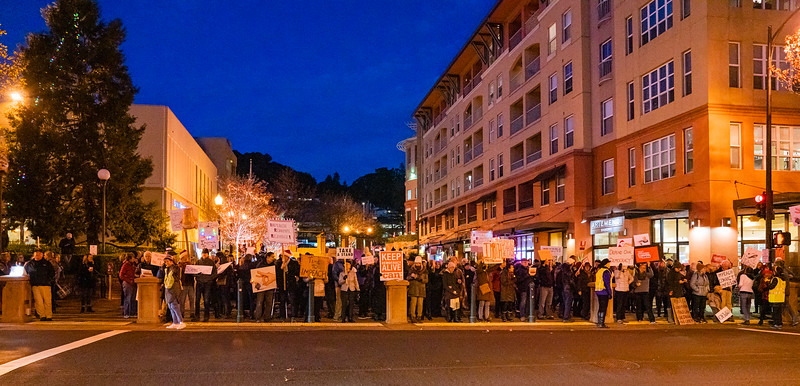 Impeachment Eve Rally - San Rafael California 17 December 2019