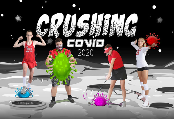 SNHS Crushing COVID Poster 2020
