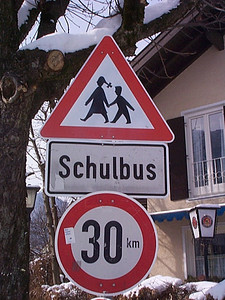 Around the World: Children Crossing Signs