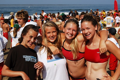 Junior Lifeguard Competition - Carpinteria, California 7/18/08