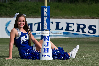 Navasota Fang Cheerleaders