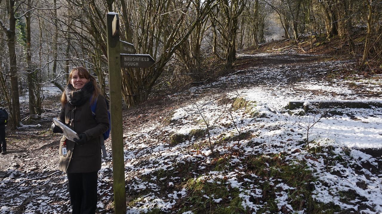 6 Team Guide  2015 Monsal  Trail 9 mile snow JAN 2015