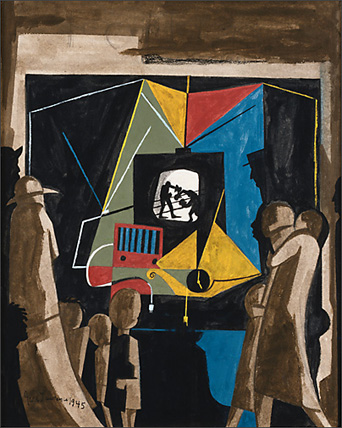 "Jacob Lawrence, ""Television"" (1945)"