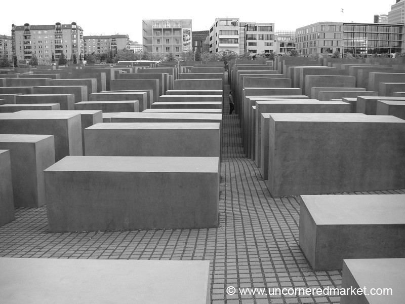 Memorial to the Murdered Jews of Europe - Berlin, Germany